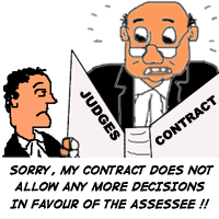 judges contract