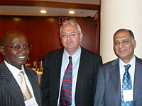 Shri. Vimal Gandhi with Mr. Michael Waweru, Commissioner General of Kenya Revenue Authority and Mr. Michael Lennard, Chief of International Tax Cooperation, United Nations